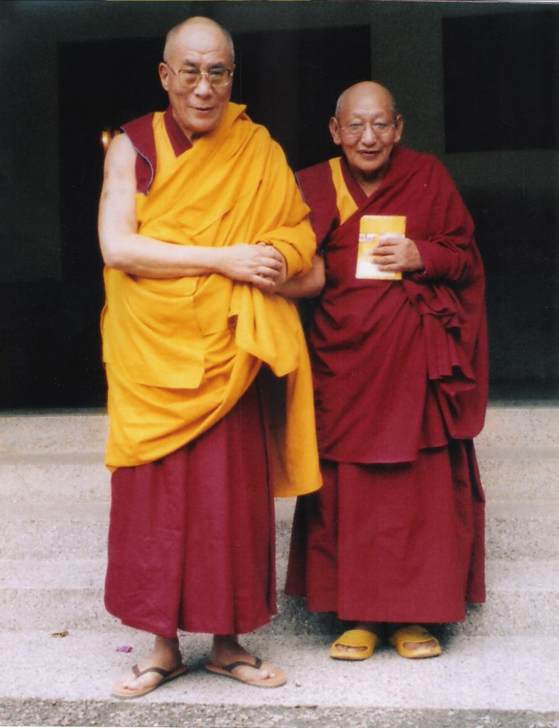 YJf  rinpoche with Dalai lama 787x1024 - Home